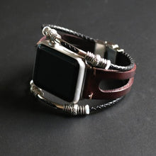 Load image into Gallery viewer, New Handmade Bead Retro Punk Bracelet for Apple Watch - Elegance & Splendour