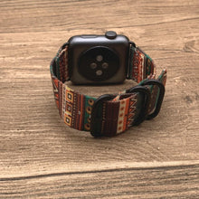 Load image into Gallery viewer, Bohemian Nylon Band for Apple Watch - Elegance & Splendour