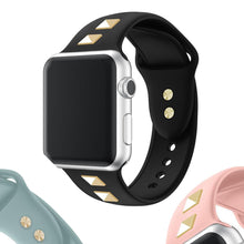 Load image into Gallery viewer, New Soft Silicone Replacement Sport Bracelet Strap Compatible With Apple Watch - Elegance & Splendour