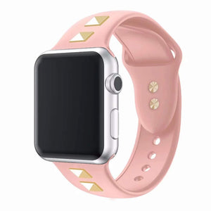 New Soft Silicone Replacement Sport Bracelet Strap Compatible With Apple Watch - Elegance & Splendour