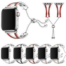 Load image into Gallery viewer, High Quality Bracelet For Apple Watch With Metal Link Belt - Elegance & Splendour