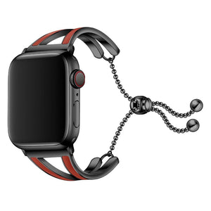 High Quality Bracelet For Apple Watch With Metal Link Belt - Elegance & Splendour