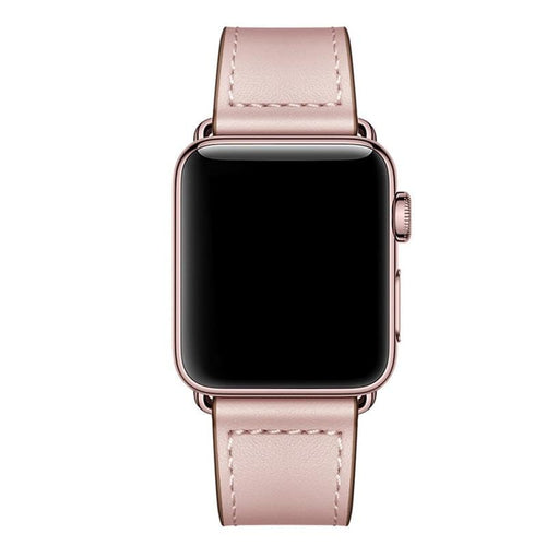 Genuine Leather Watch Band Strap For Apple Watch Series 5 4 3 2 1 - Elegance & Splendour