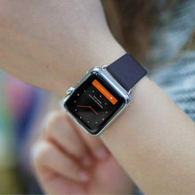 Load image into Gallery viewer, Modern Buckle Leather Loop Bracelet  Band For Apple Watch