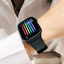 Load image into Gallery viewer, Elite Classic Leather Band Compatible With Apple Watch - Elegance & Splendour