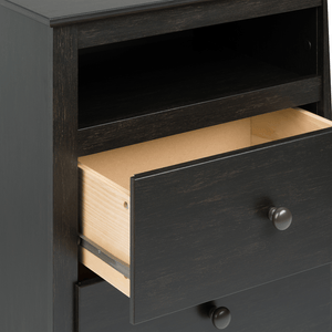 Nightstand With 2 Drawers - Elegance & Splendour