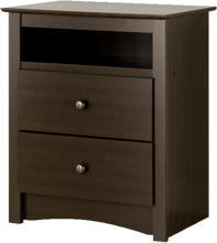 Load image into Gallery viewer, Nightstand With 2 Drawers - Elegance & Splendour