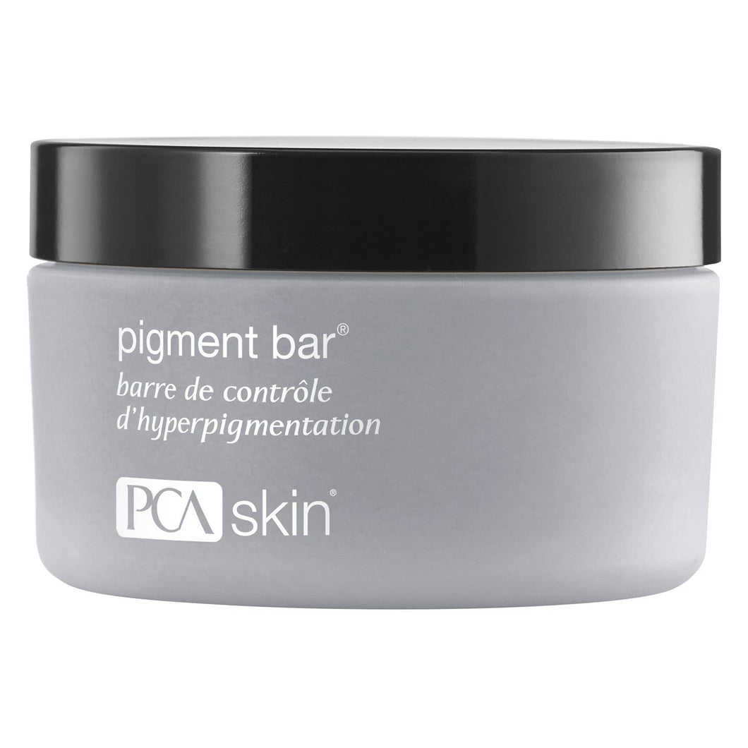 pigment bar, VBSkin, PCA, cleanser, hyperpigmentation, skin care