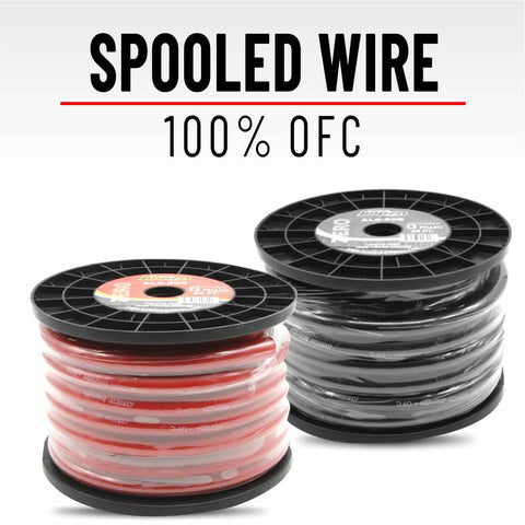 Power & Speaker Wire