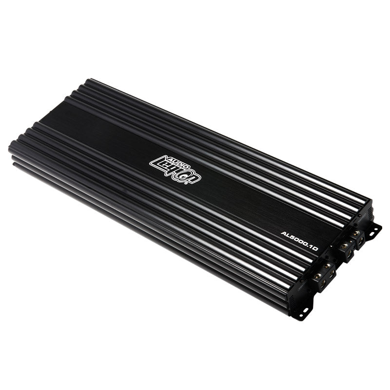 AL5000.1D - top side of 5,000 watts, monoblock class D car amplifier