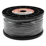 AL8-200 - 200 ft spool of 8 gauge, marine grade black speaker wire