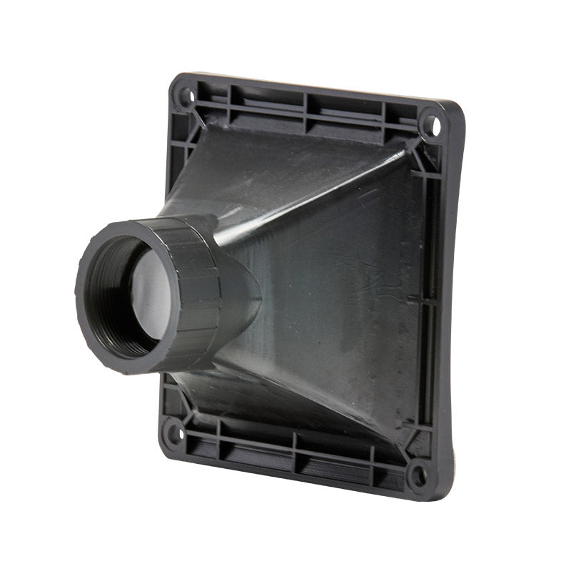 "ALH02 - 1"" throat square face ABS plastic horn"