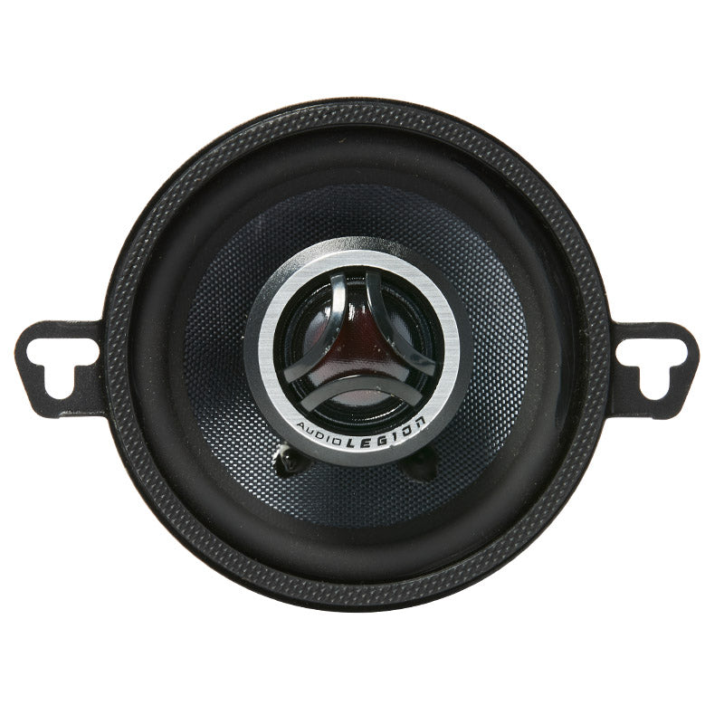 CMG35 - double photo showing top and profile of 120 watt coaxial speaker