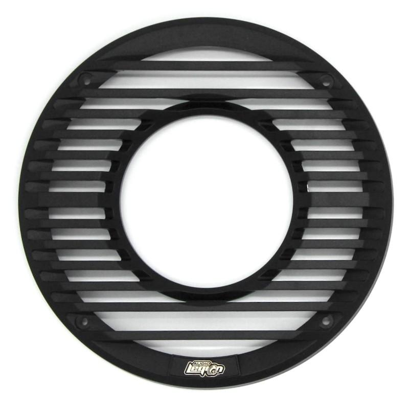 "GR-8M - 8"" black marine grille with remote"