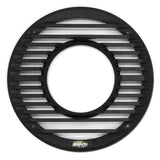 "GR-8M | 8"" 20 Color LED Black Marine Grille w/ Remote"