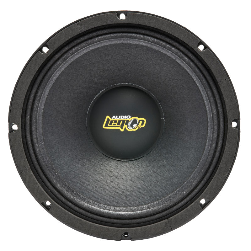"MG12 - top and profile of 12"" 700 watt golden midrange speaker"