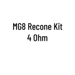 MG8 Recone Kit