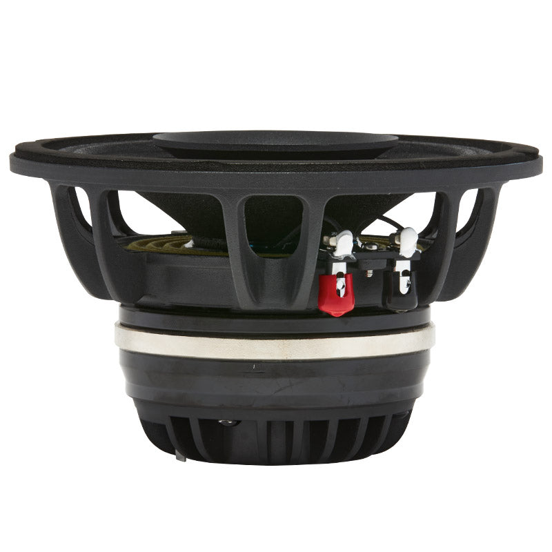 "MR6N - top and profile of 6.5"" 400 watt neo marine pro driver coaxial speaker"