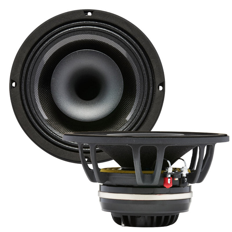 "MR8N | 8"" 600 Watt NEO Marine Pro Driver Coaxial Speakers"