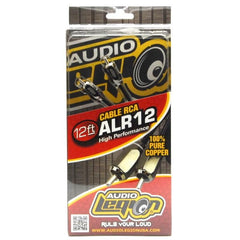 ALR12 - 12 ft,  2-channel RCA cable out of packaging
