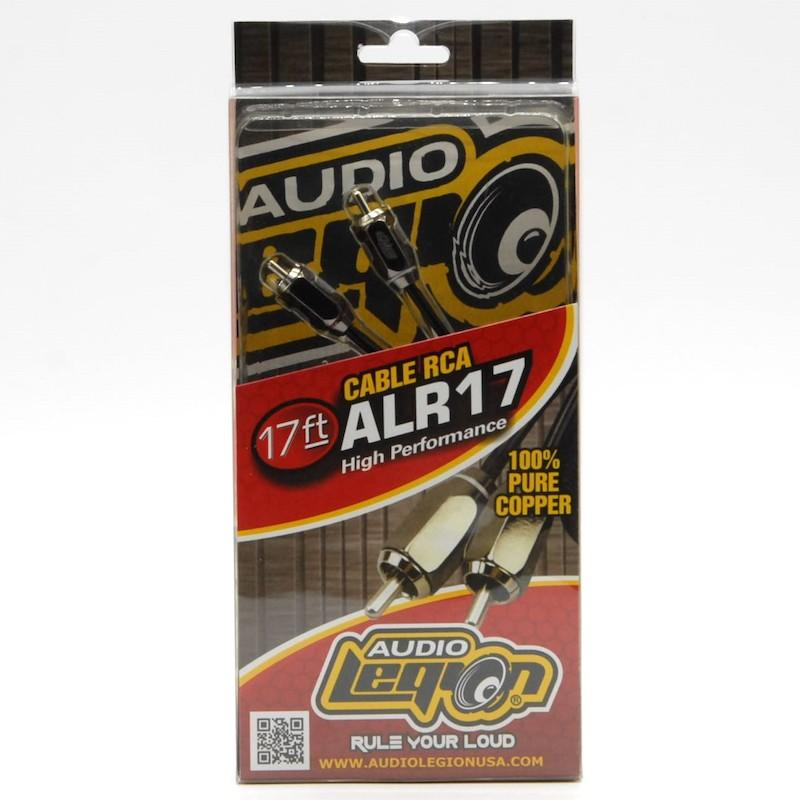 ALR17 - 17 ft, 2-channel RCA cable unpackaged