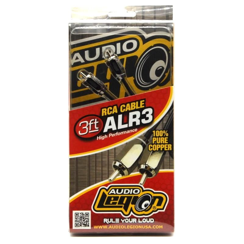 ALR3 - 3 ft, 2-channel RCA cable unpackaged