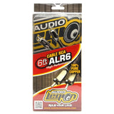ALR6 - 6 ft, 2-channel RCA cable packaging