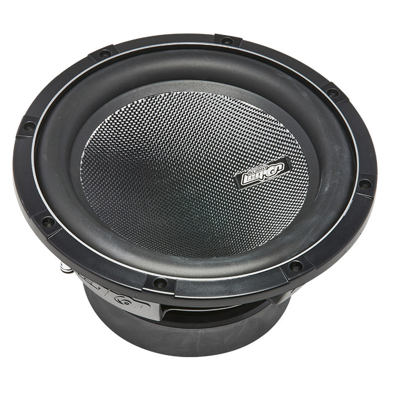 "S2010 - top of cone with Audio Legion logo 10"" 500 watt subwoofer"