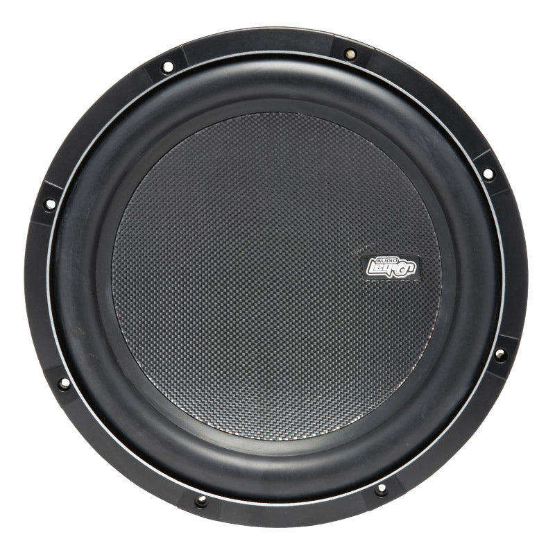 "S2012 - fiberglass cone and Audio Legion logo of 12"" 600 watt subwoofer"
