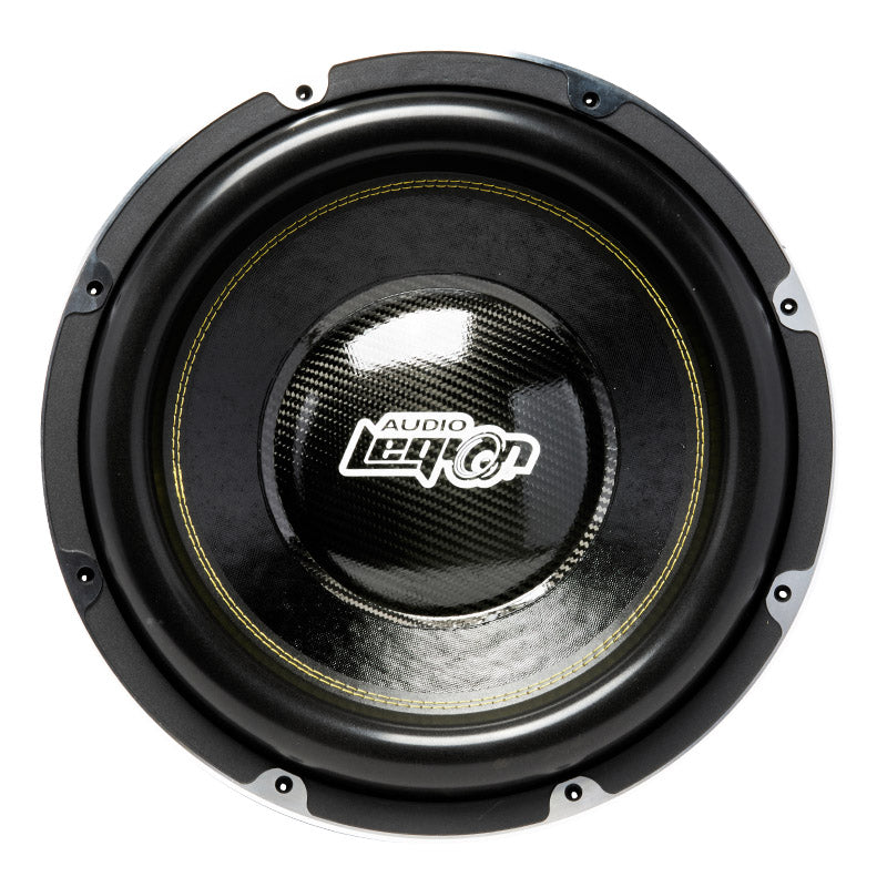 "S3015 - side view of cone and Audio Legion dust cap 15"" 3,000 watt subwoofer"