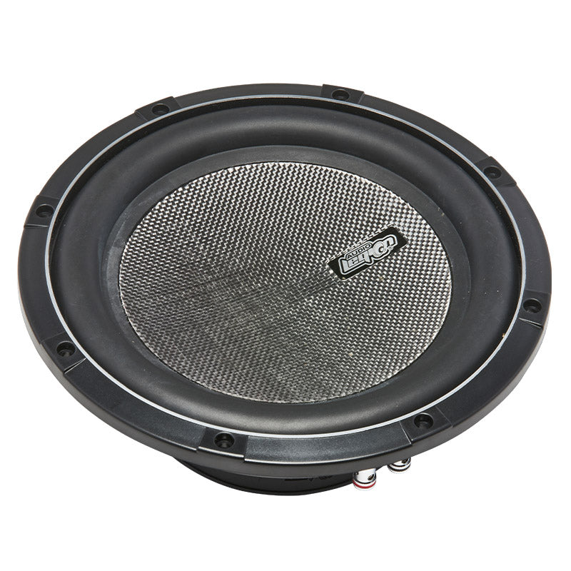 "SF10 - profile of 10"" 500 watt slim mount subwoofer"