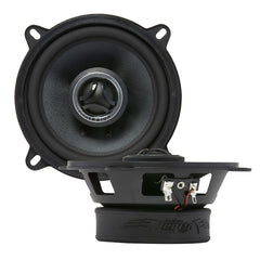 CMG525 - double shot of top and profile of 160 watt max coaxial speakers