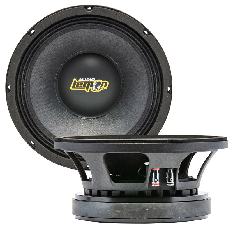 "MX10 - top and profile of 10"" 1,00 watt Xtreme midrange speaker"