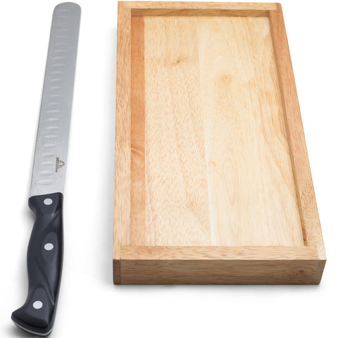 Jerky Cutting Board & Knife Set - Make Perfect Jerky