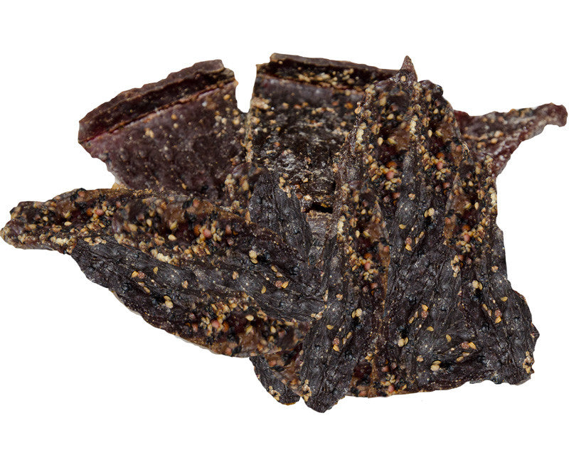 Cracked Pepper Beef Jerky - Highland's Best (1lb & Bulk Discounts)