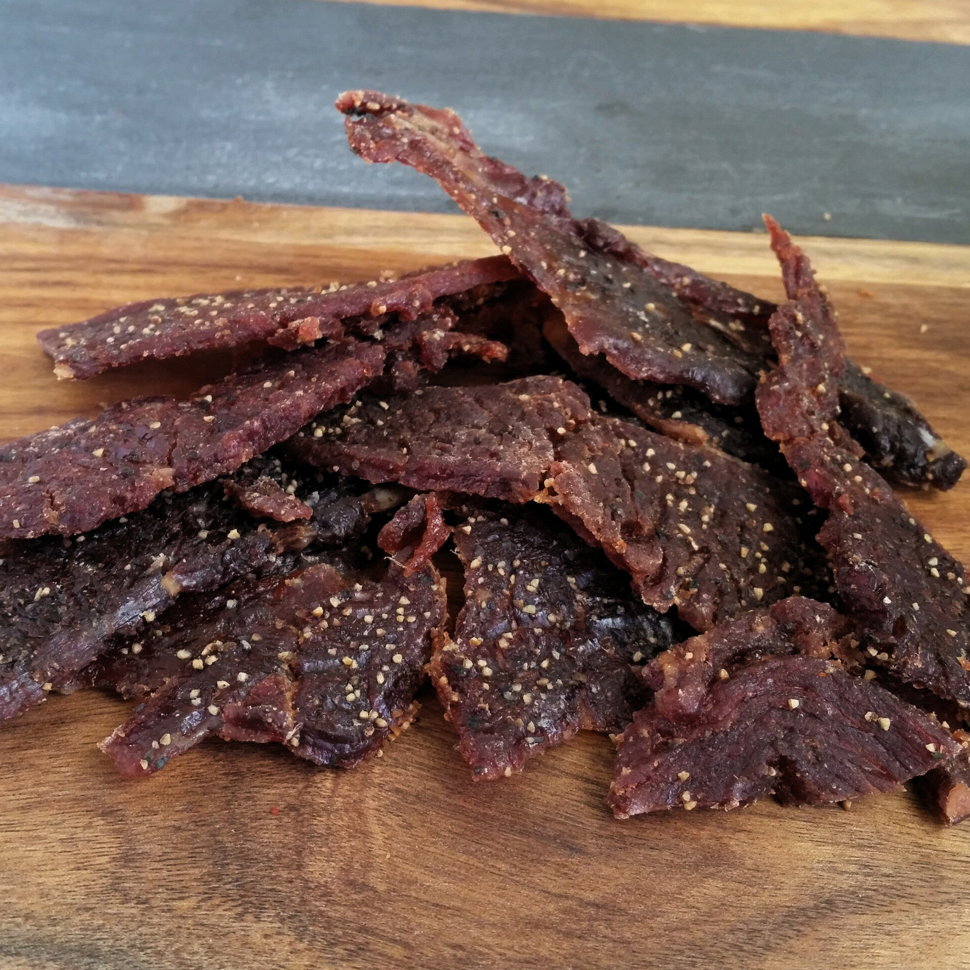 Tender Beef Jerky, Super Sweet Teriyaki & Pepper Flavor  1lb & Bulk