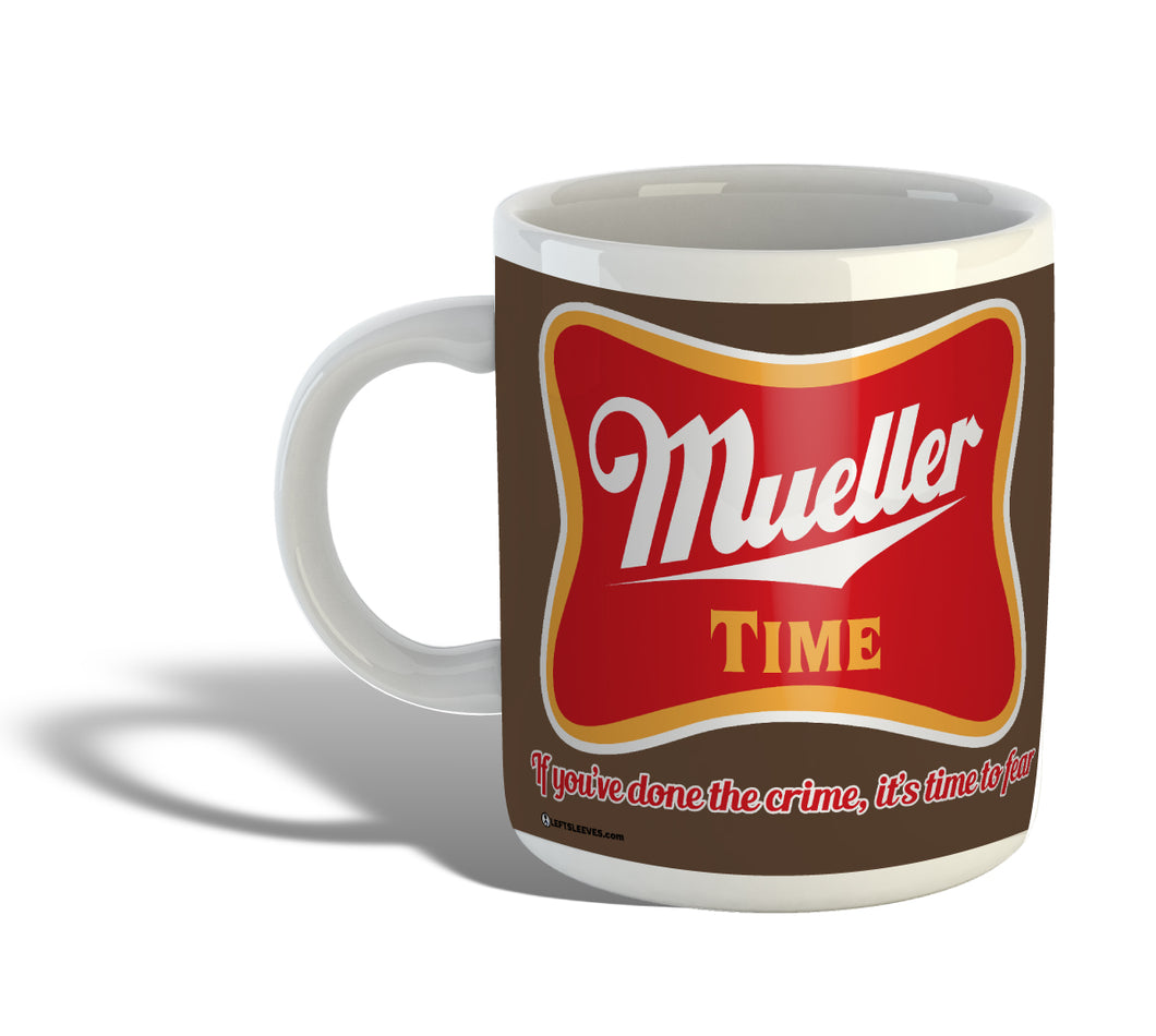 Robert Mueller Time Mug -- BROWN