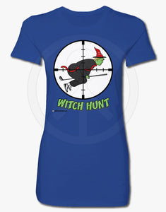 Trump Witch Hunt Shirt - ROYAL