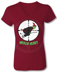 Trump Witch Hunt Shirt - MAROON