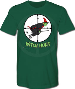 Trump Witch Hunt Shirt - GREEN