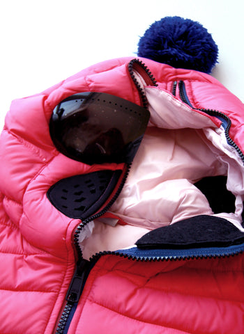 AI Rider On The Storm Girls Down Jacket in Fuchsia/Pink - FINAL SALE