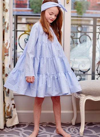 Airfish Bailey Dress in Blue