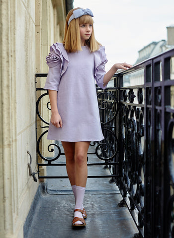 Airfish Rosa Dress in Lavender