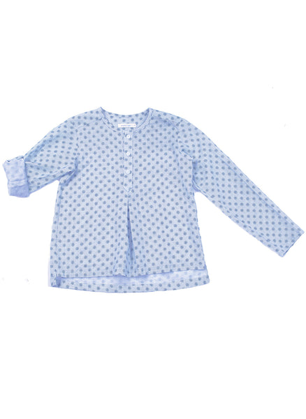 Anais & I Boys Tunic Vincent III - Blue Dots - FINAL SALE