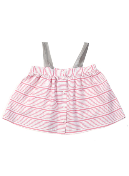 Anais & I Girls Tunic Annabelle - Pink Stripes - FINAL SALE