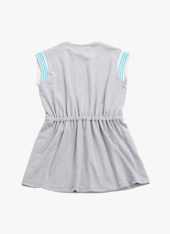 Anais & I Tina Sweatdress in Steel D10003 - Final Sale