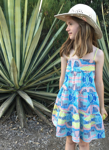 Anthem of the Ants Daydreamer Dress in Salt