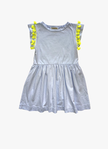 Anthem of the Ants Fiesta Dress in Cloud