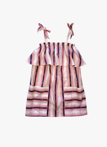 Anthem of the Ants Garden Dress in Stripe