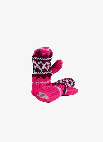 Appaman Girls Mittens - Hot Pink - FINAL SALE
